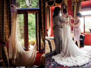 wedding preparing in Prague