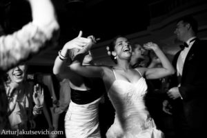 dancing at a wedding in europe