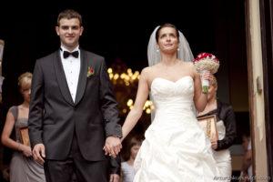 church wedding look