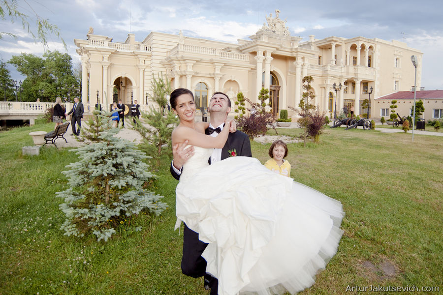 Luxury wedding in Poland