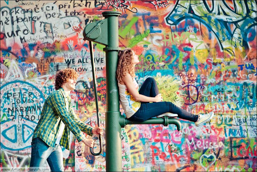 Lennon wall photo