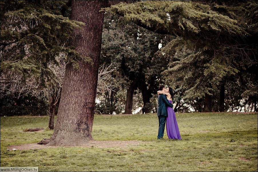 Honeymoon photography in Italy