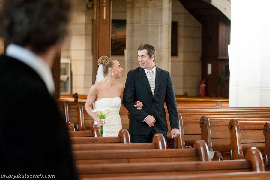 Church wedding in Germany