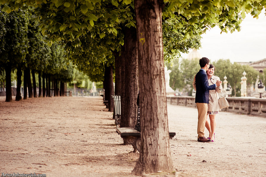 Pre wedding photographer in Paris and France Artur Jakutsevich