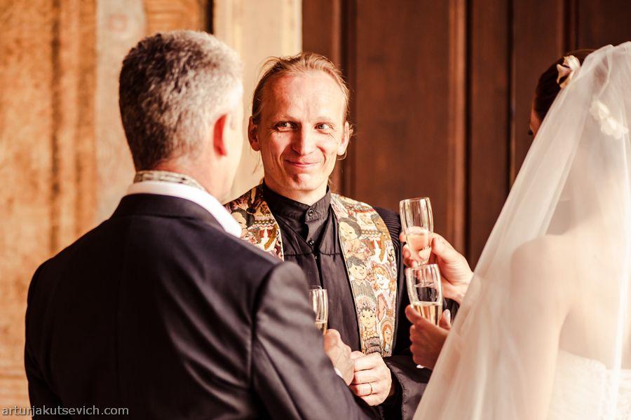 Marriage in Vrtba garden of Prague