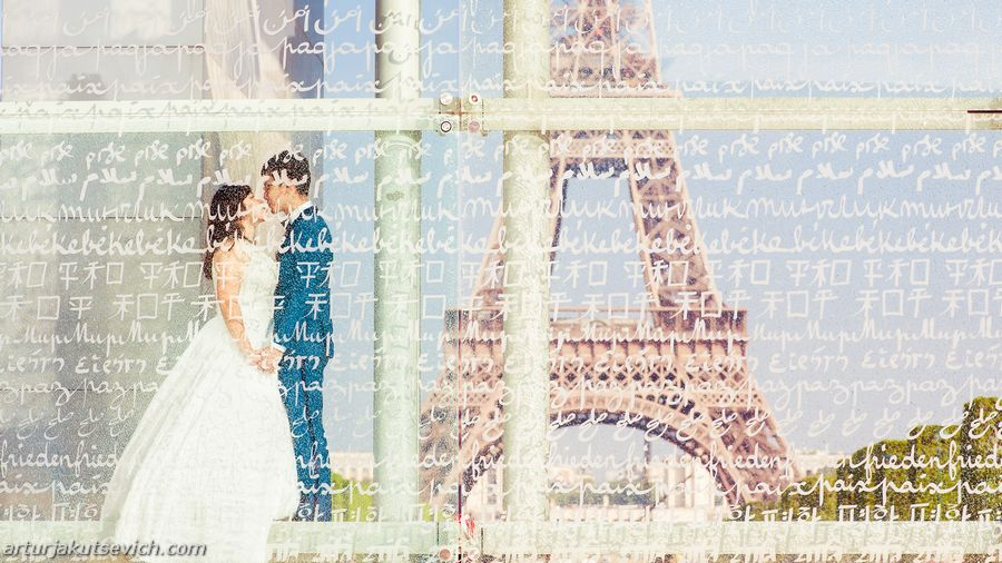 Romantic places of Paris