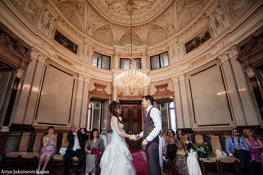 Wedding in Chateau Baroque Liblice