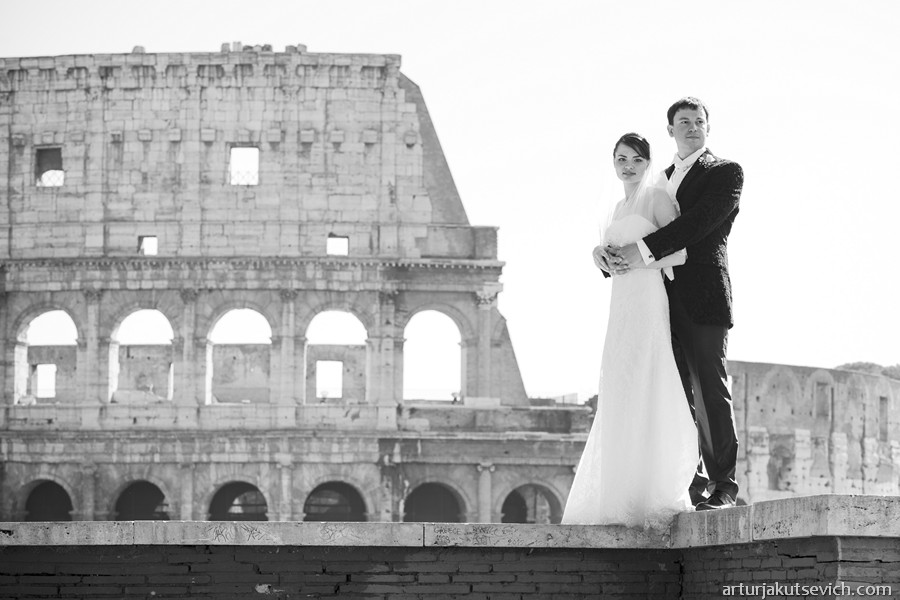 Wedding and engagement photographer in Rome Italy