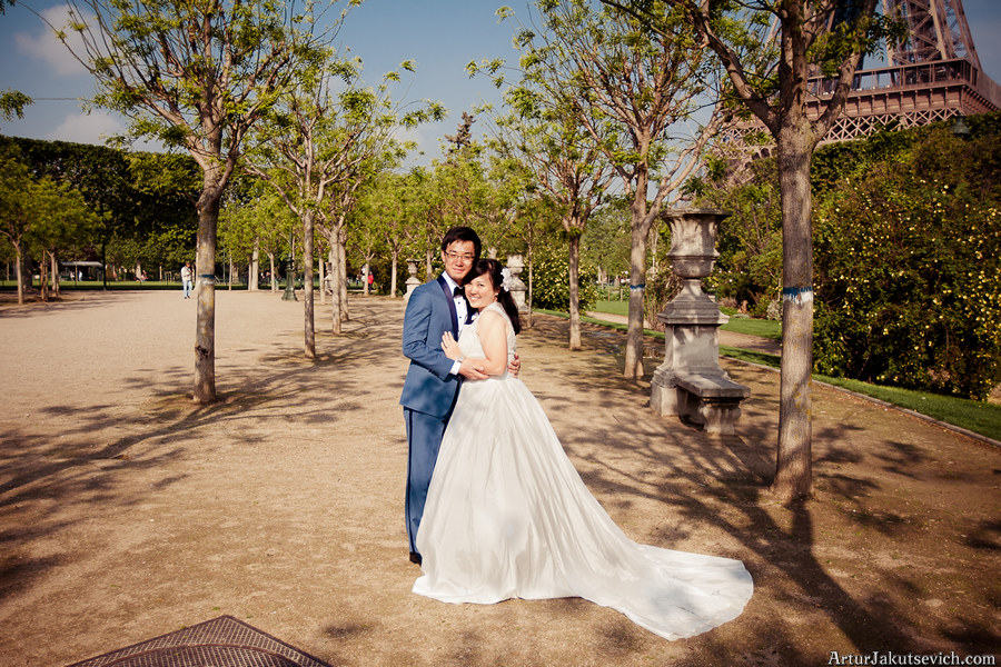 wedding photographer in Paris Artur Jakutsevich