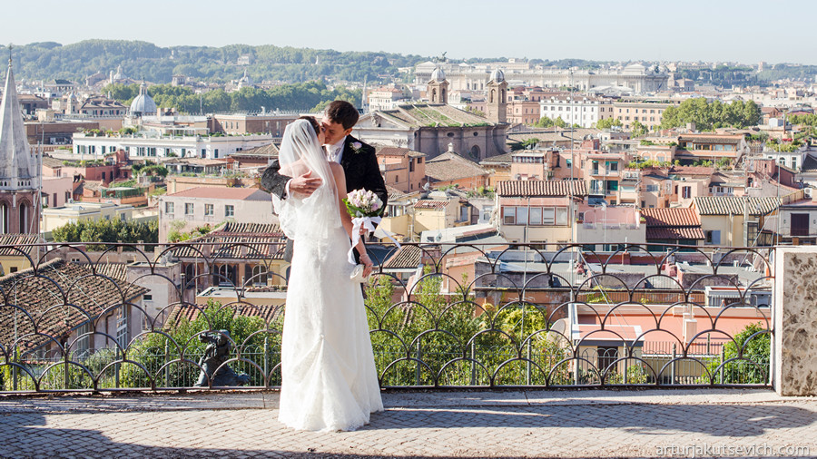 wedding in rome Destination wedding photography in Rome, Italy
