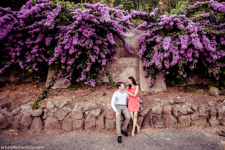 Engagement photography in Italy