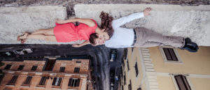 Engagement photographer in Rome Italy