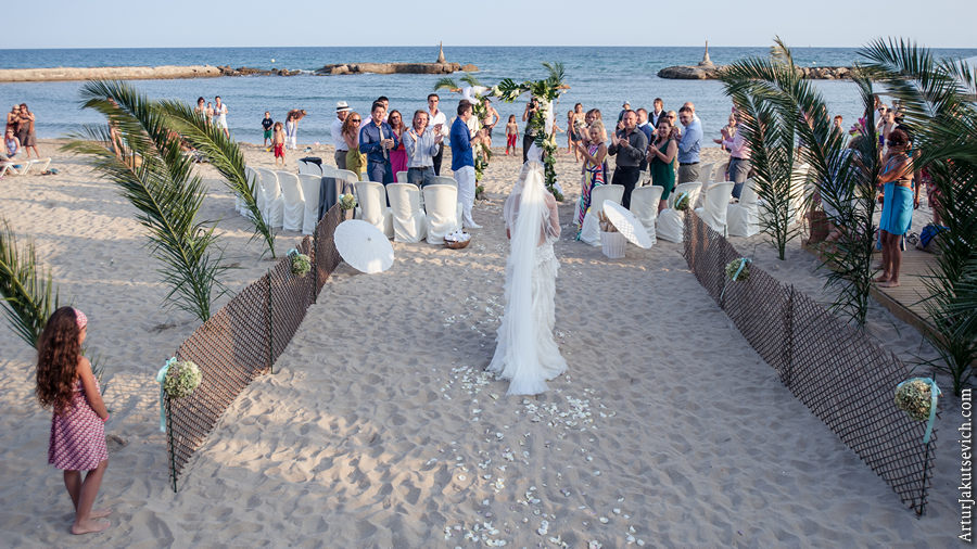 symbolic wedding ceremony in Spain