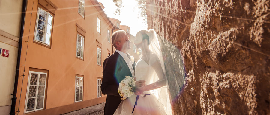 Luxury wedding in Prague: Azat and Tatiana
