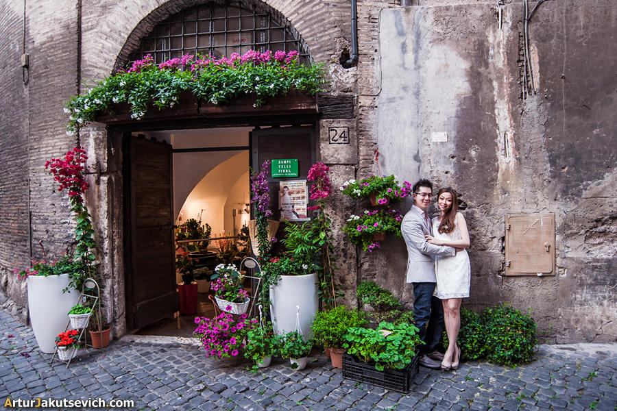 Rome pre wedding photographer Artur Jakutsevich