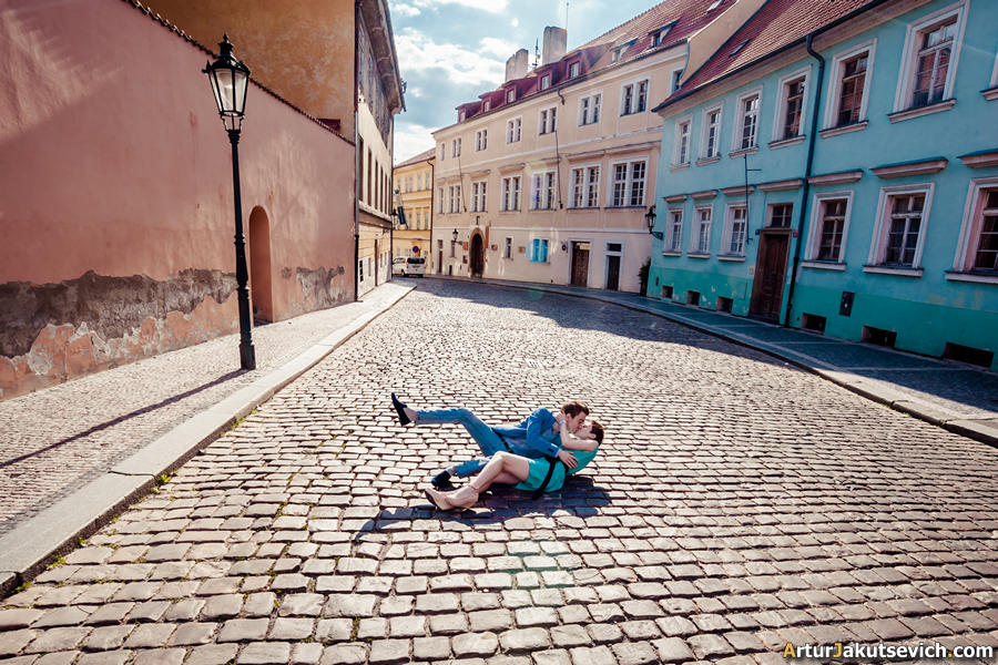 pre wedding photographer in Prague may 2013