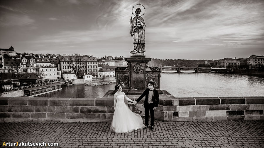 Pre wedding photography in Prague