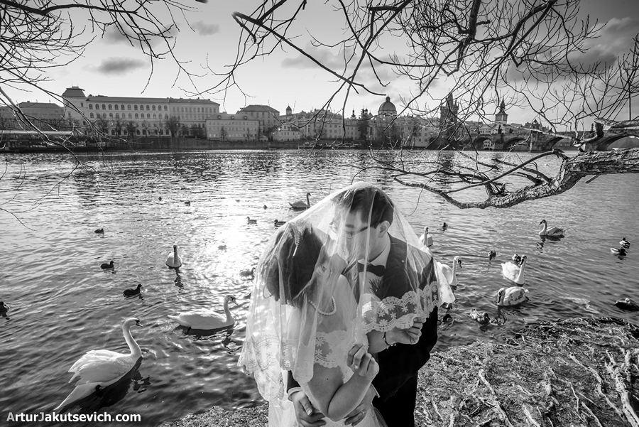 Engagement ideas photography in Prague