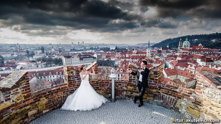 Engagement in Prague photo