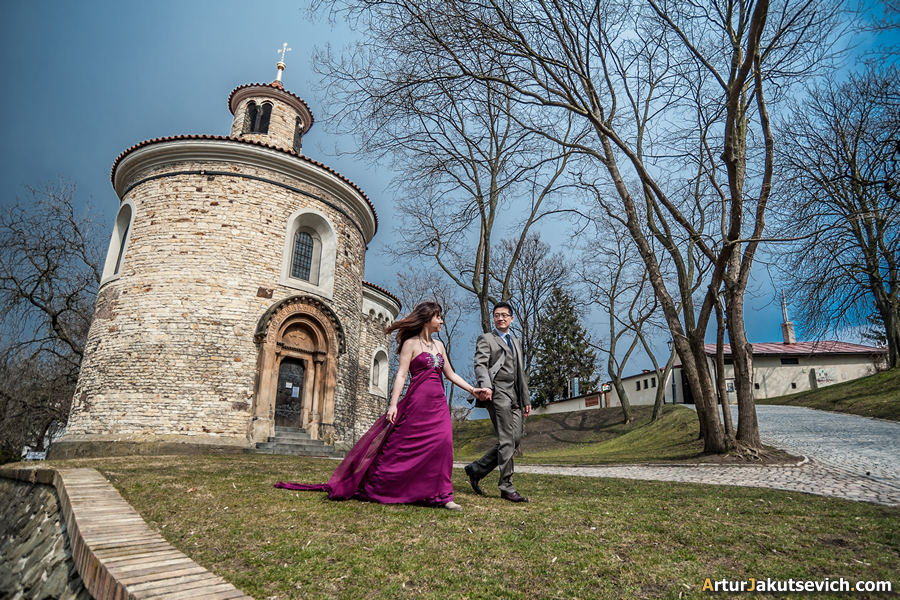 Engagement photographer in Prague