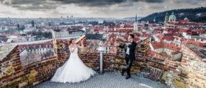Pre wedding photography in Prague