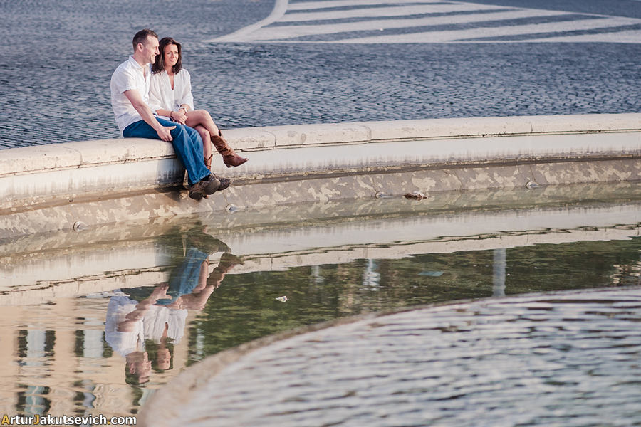 Engagement photography in Rome