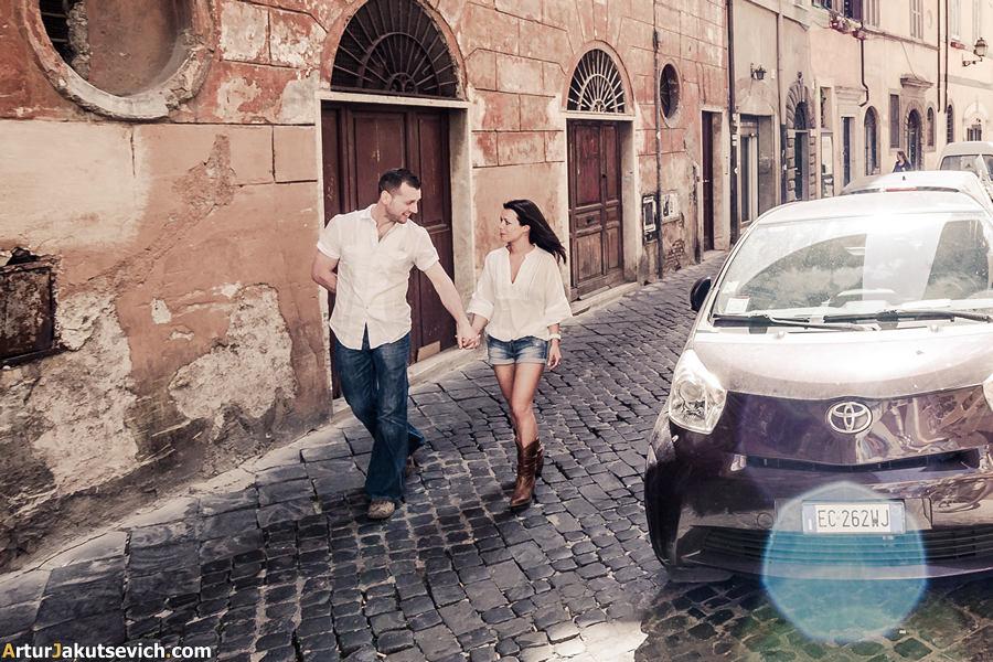 Rome streets photo