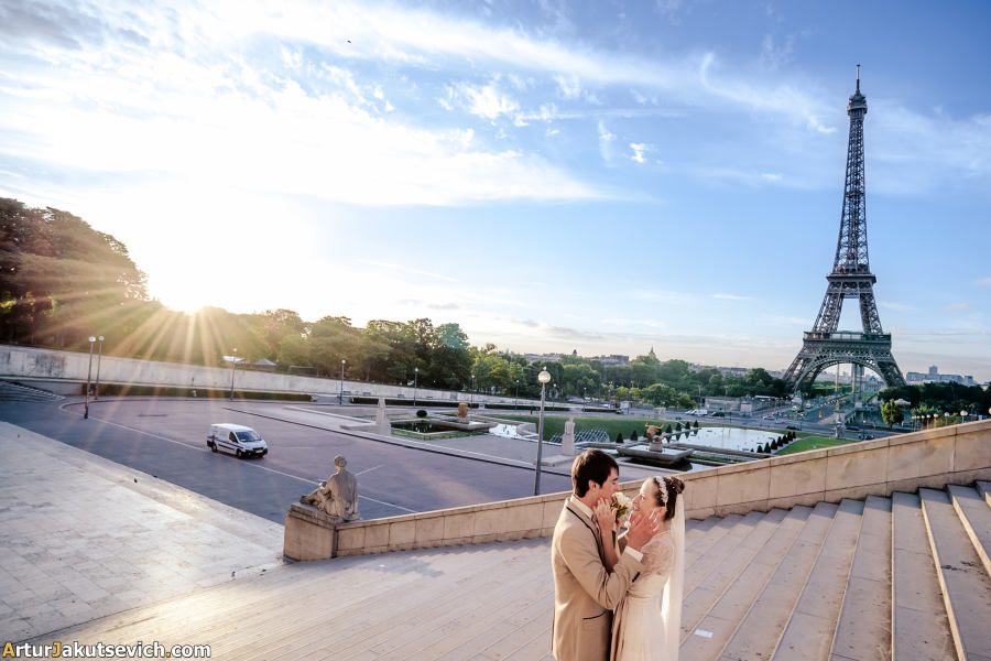 Professional photographer in Paris