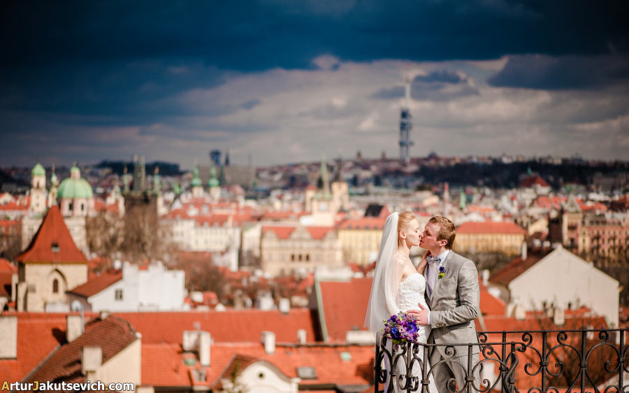 Wedding photographer in Prague Artur Jakutsevich