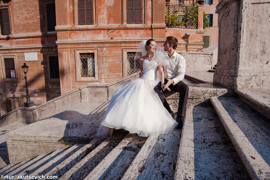 Spanish Steps in Rome photo