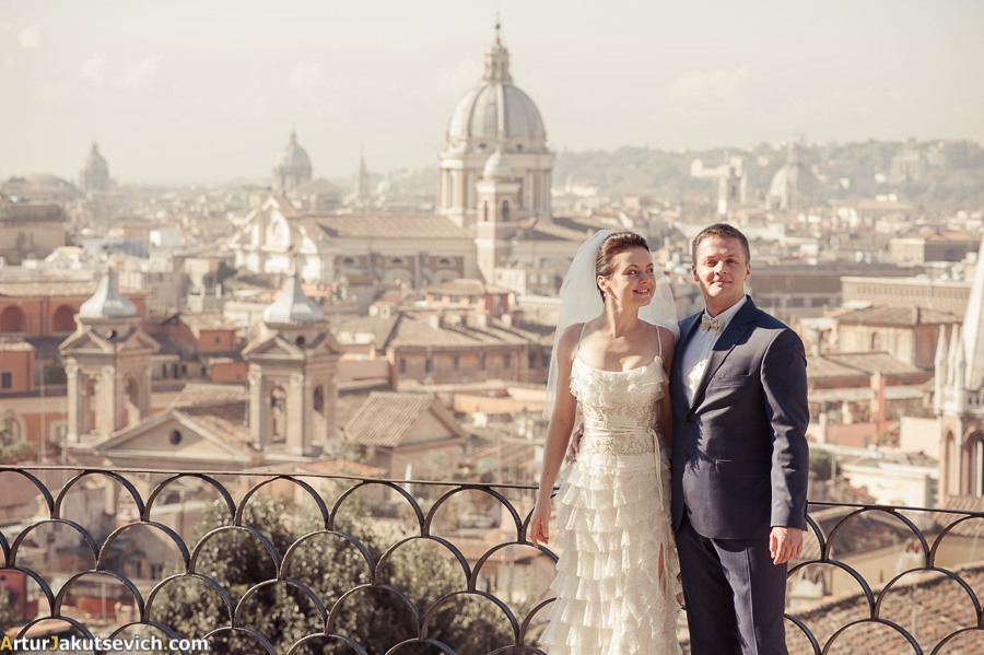 Honeymoon in Italy photo