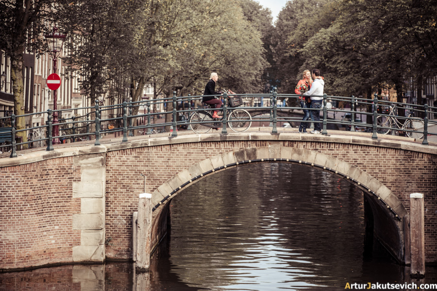 Romantic photo shooting in Amsterdam