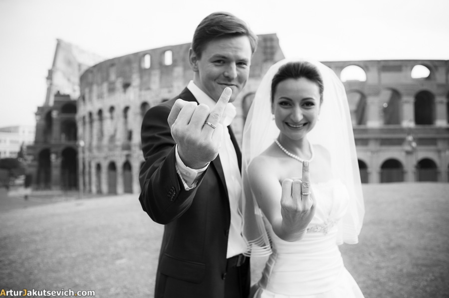 Rome wedding pictures