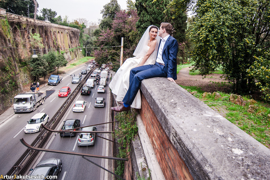 Honeymoon in Rome photo