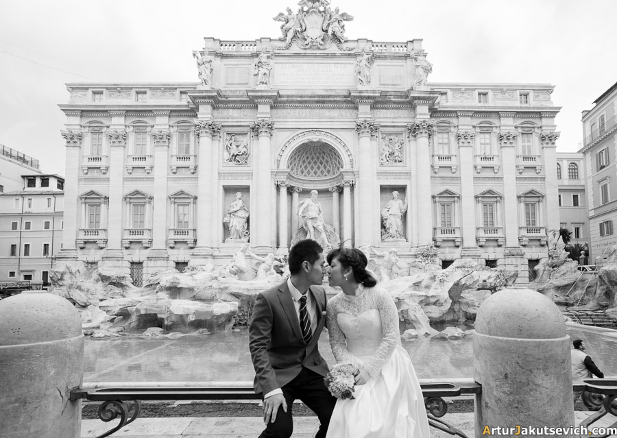 Italian photographer in Rome
