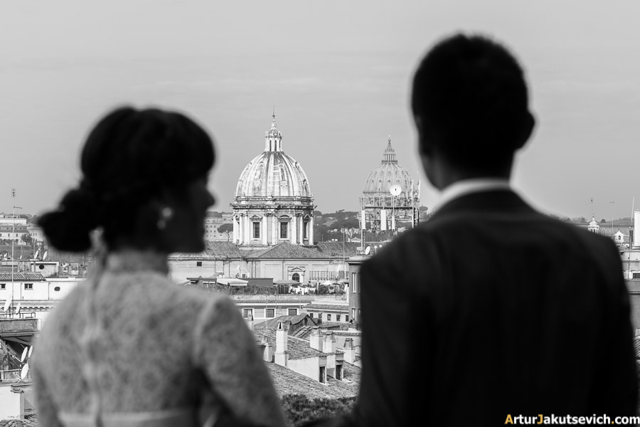 Wedding photographer in Rome Artur jakutsevich