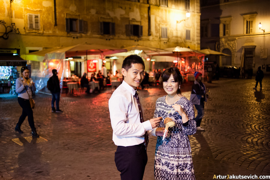 Ice-cream in Italy