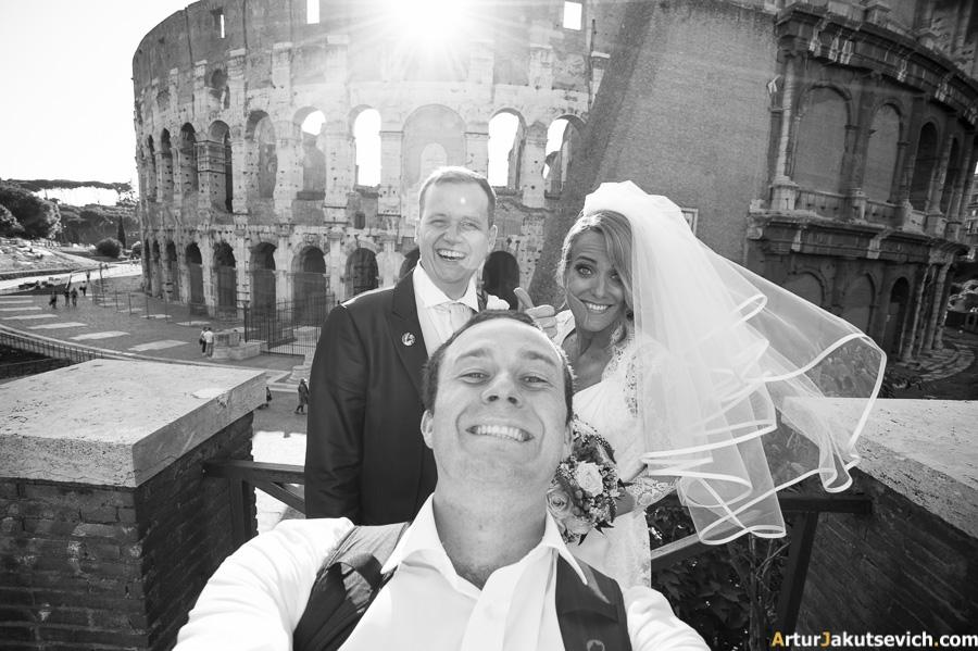 Selfie Colosseum