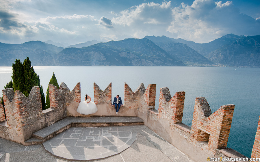 Garda Lake wedding