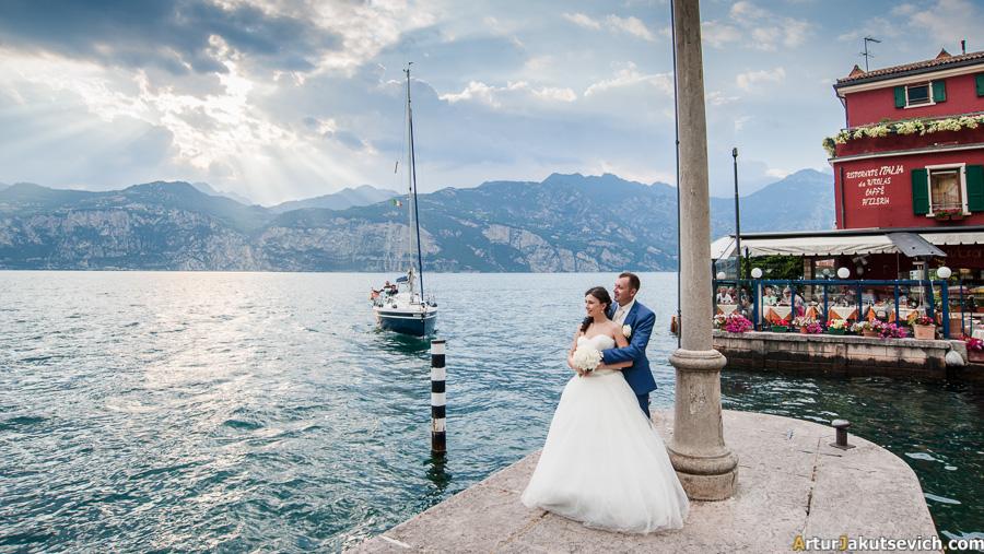 Boat trip in Garda