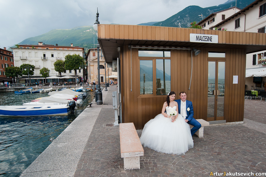 Wedding photographer Artur Jakutsevich Italy Garda Lake