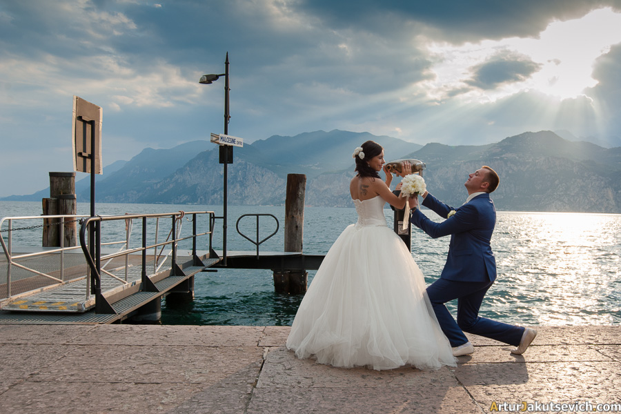 Wedding in Italian Lake