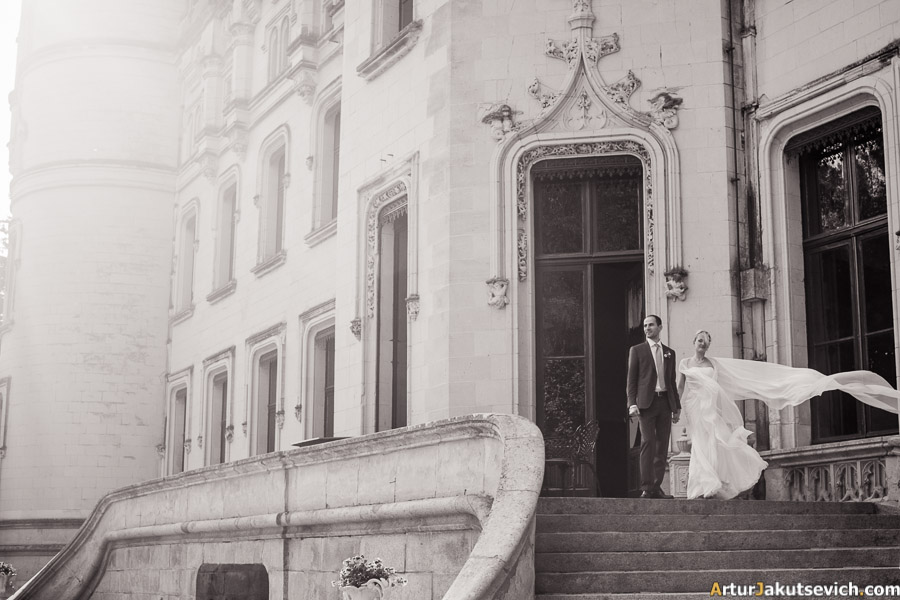 Wedding in French castle Chateau Challain