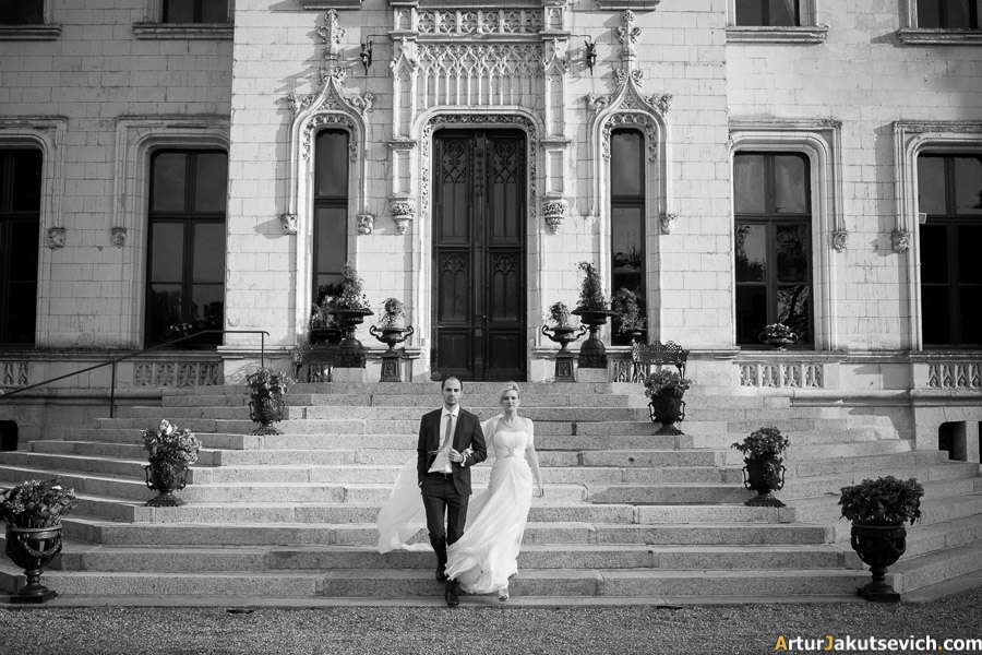 Chateau de Challain arrange a wedding