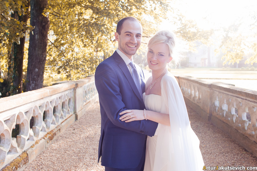Wedding photos from Chateau Challain