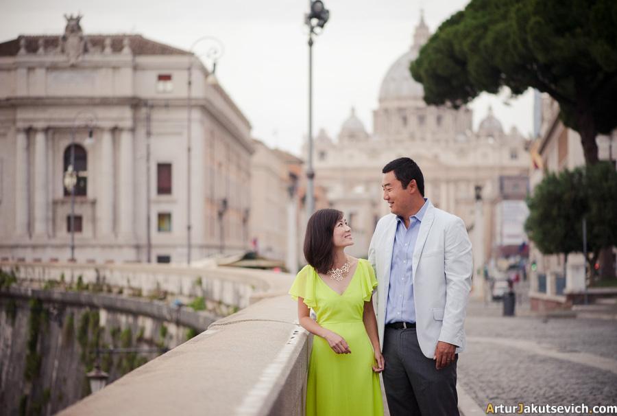 Anniversary in Rome