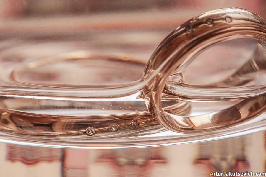 Wedding rings in Prague