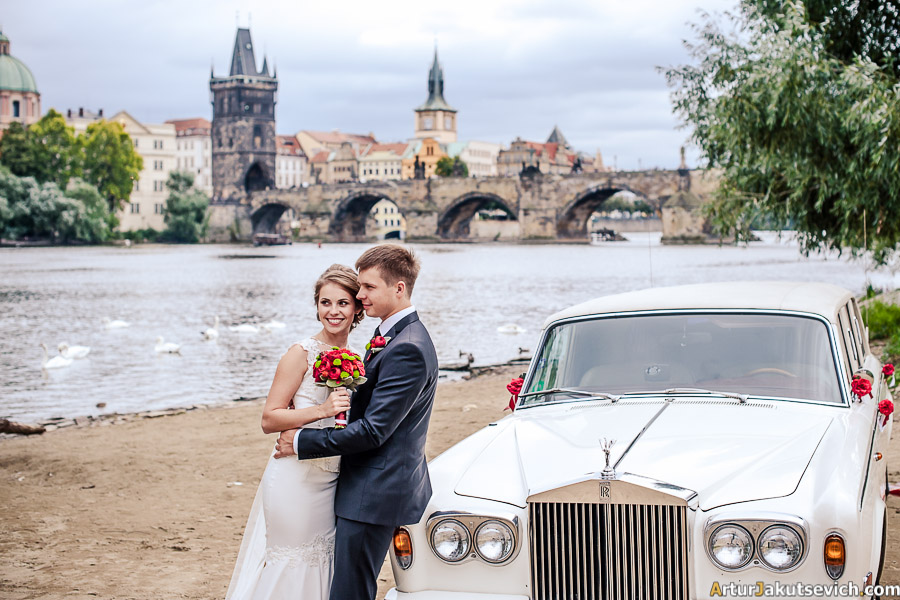 Destination wedding in Prague