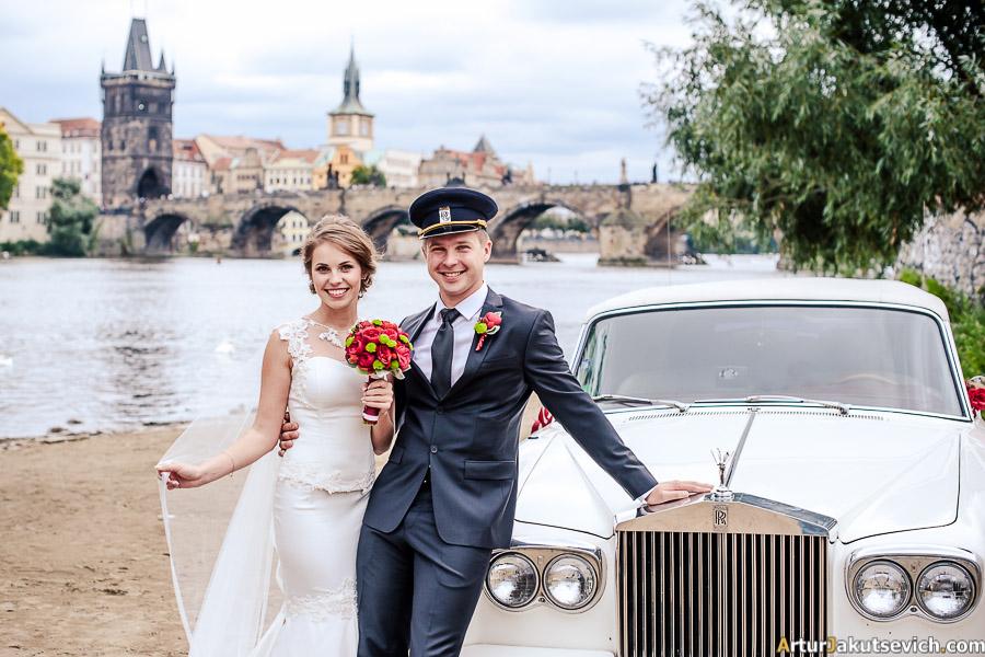 Rolls-Royce in Prague