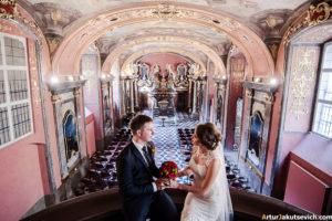 Wedding in Klementinum